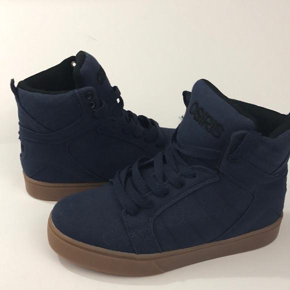 Osiris Shoes | Osiris Navy Blue High